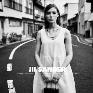 [NWT] Jil Sander SS19 Geek Cotton & Silk Dress